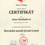 Cert. Hawaiian Massage Lomi Lomi